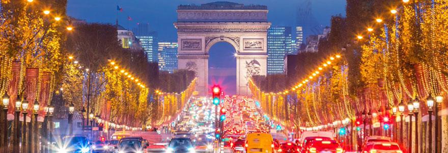 Vacances de Noël paris